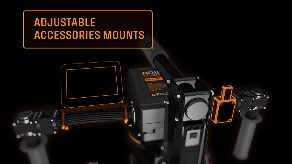 ADJUSTABLE ACCESSORIES MOUNTS